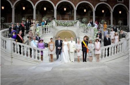 モナコ大公の結婚式