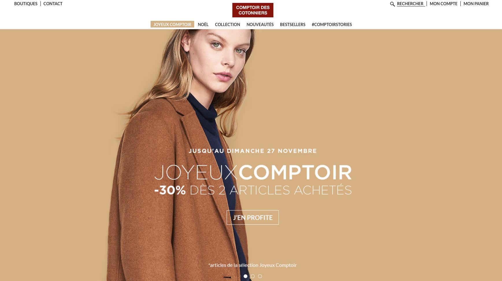 Comptoir des Cotonniers(コントワー・デ・コトニエ)ファッション翻訳