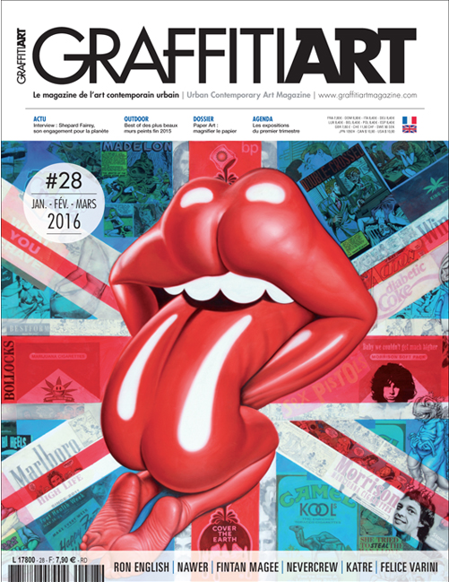 雑誌「Graffiti Art」翻訳