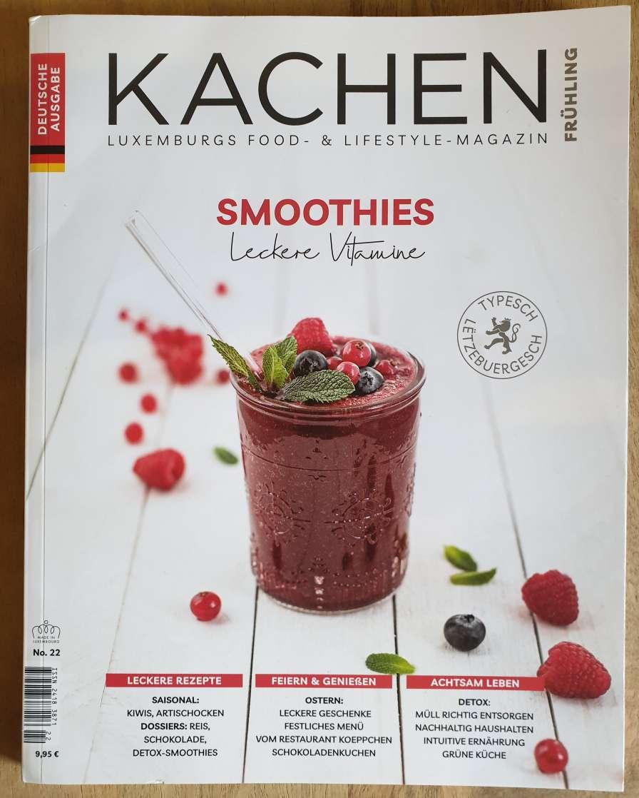 雑誌「Kachen」翻訳とDTP